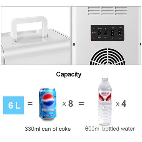 Mini fridge MFA-15L-A